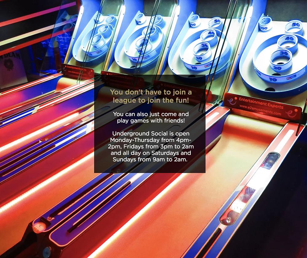 Denver Arcade Bar
