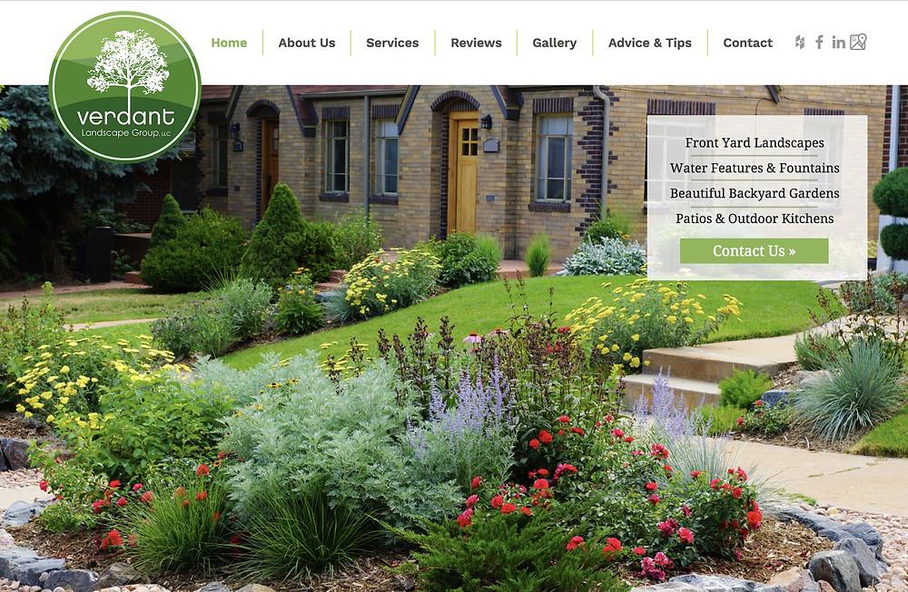 Wix Designer – for Landscape Company