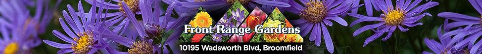 Front Range Gardens in Broomfield, Colorado