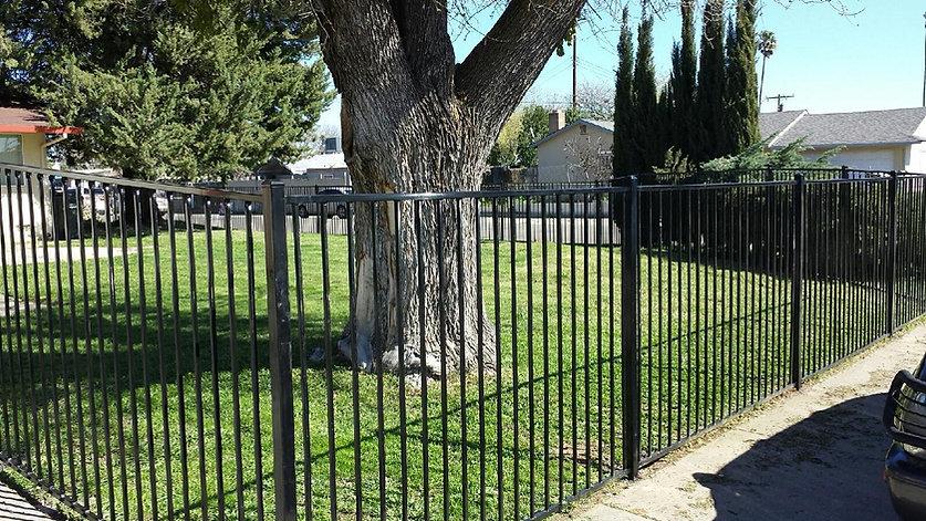 Wrought-Iron-Fencing-Iron Style 1 - flat