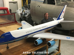 Aero Telemetry and Joe Bok recently completed this flyable USAF, Air Force One, Unmanned Air Vehicle.