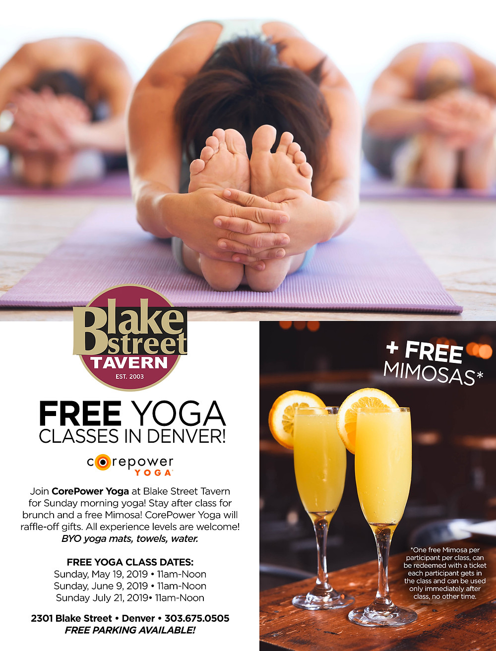 Free Yoga Classes in Denver