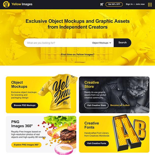 Website & Graphic Designer Mockup Resource