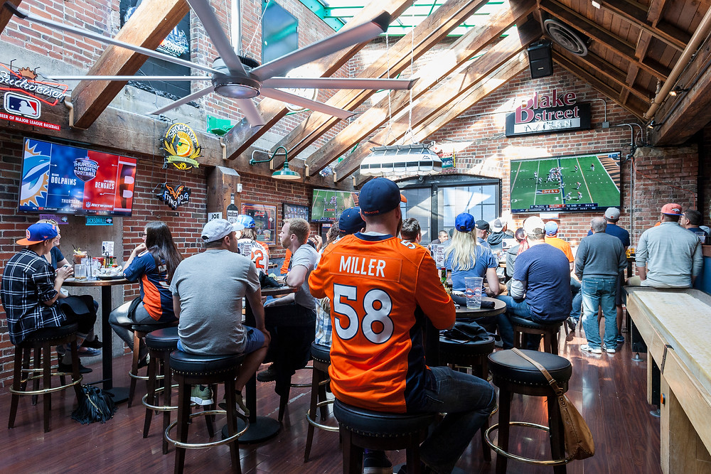 Broncos Football Watch Party in Denver at Blake Street Tavern