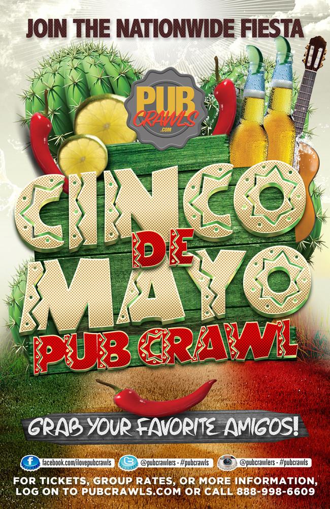 CINCO DE MAYO PUB CRAWL – DENVER - 2018