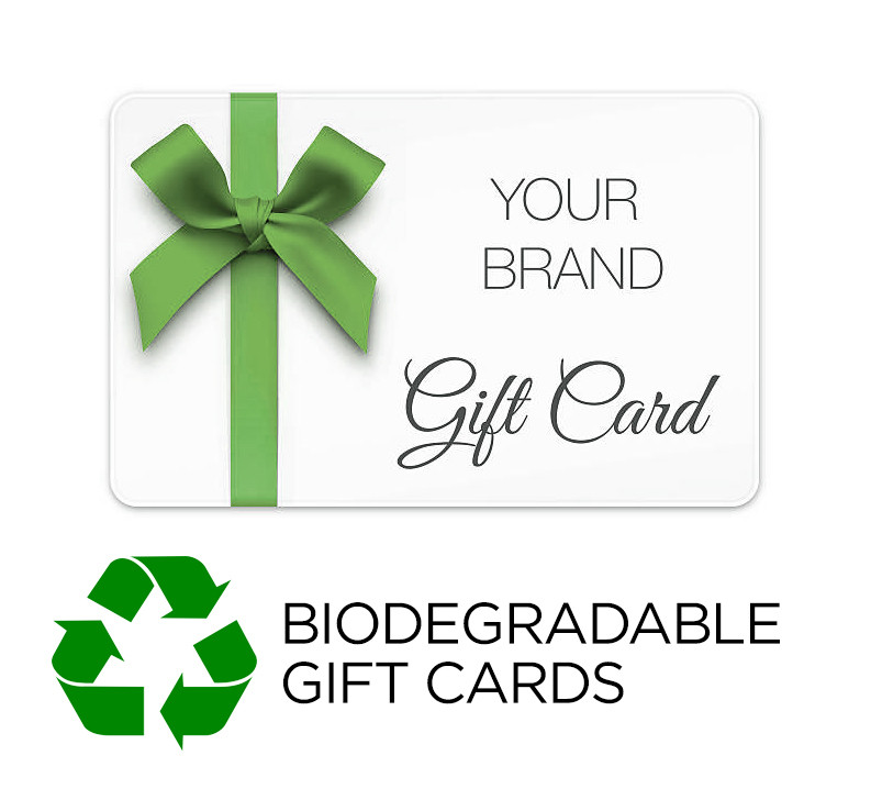 Biodegradable Gift Cards