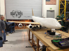 CG and weight calculations for the Aero Telemetry flyable scale model of Air Force One.