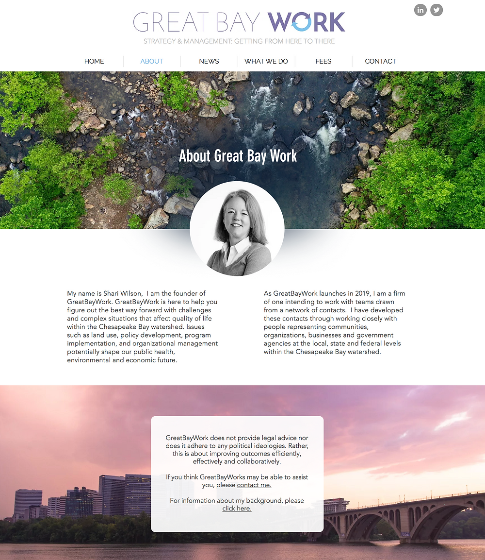 Great Bay Work - New Website Design