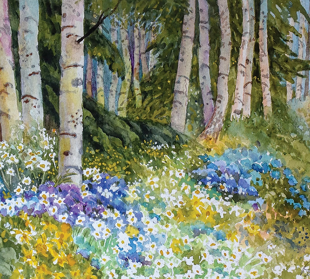 Online Watercolor Classes - Private Classes with Artist Dennis Pendleton