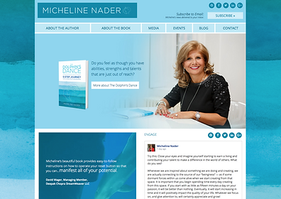 Wix Website Design for Author