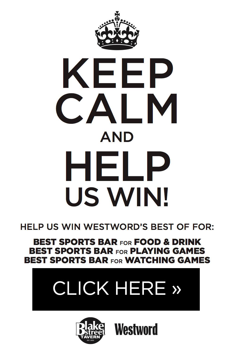 Vote for Blake Street Tavern as Best Sports Bar in Denver