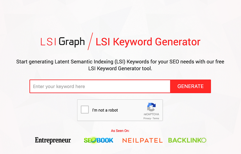 SEO Hero Keyword Tools