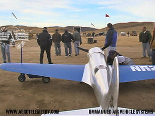 Hughes H-1 Racer on set for the movie The Aviator