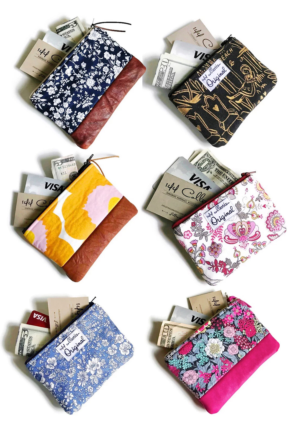 Vintage Coin Purses by 144 Collection