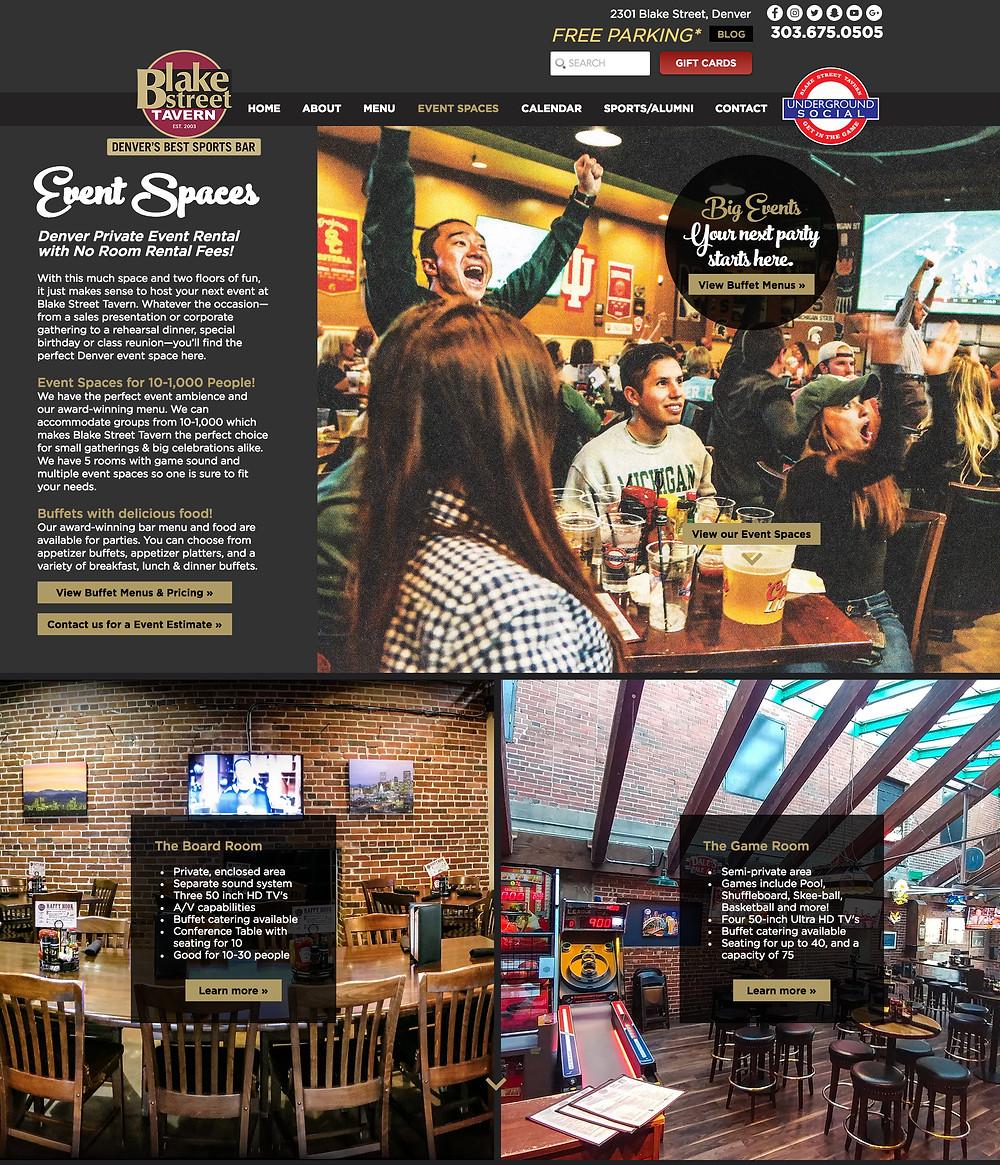 Restaurant Website Design Company in Denver