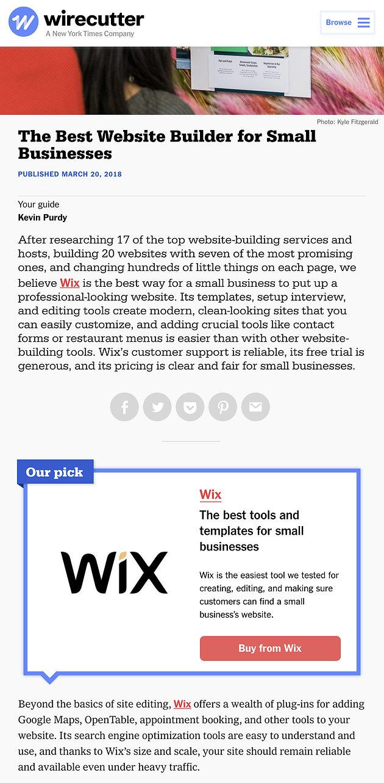 2018 Wix Review by a Website Designer | Wix Designer | Denver Web