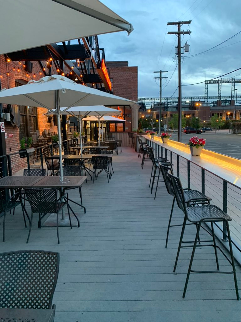 Denver's Best Patio is at Blake Street Tavern, downtown