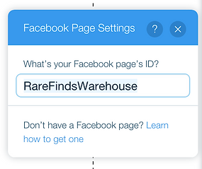Facebook Feed Setting