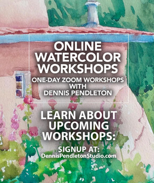 Online Watercolor Painting Program