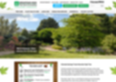 Wix Website Design for Tree Company