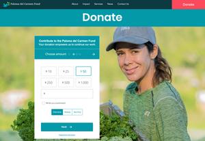 Non-Profit Website Design for Puerto Rico Farmers