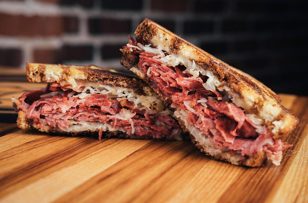 Late Night Food in Denver - Reuben Sandwiches