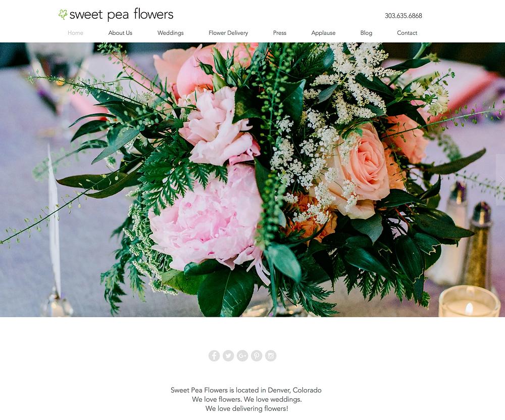 Florist Website Designer