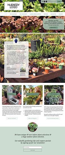 Wix Template - Garden Nursery
