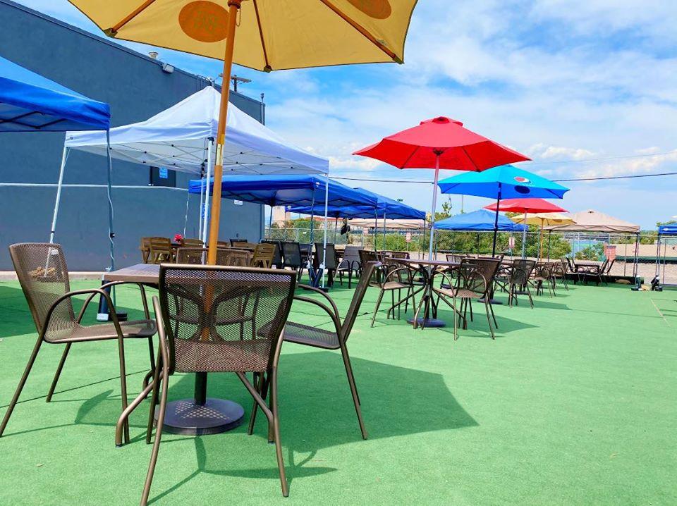 The Best Denver Beer Garden is at Blake Street Tavern!