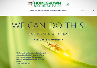 Homegrown National Park Website