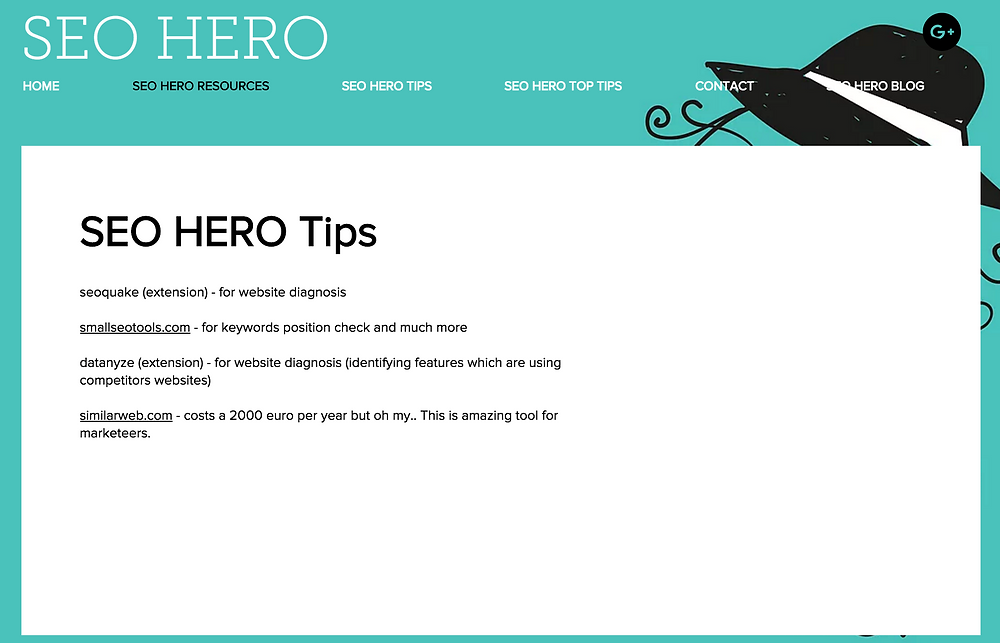 SEO Hero Resources
