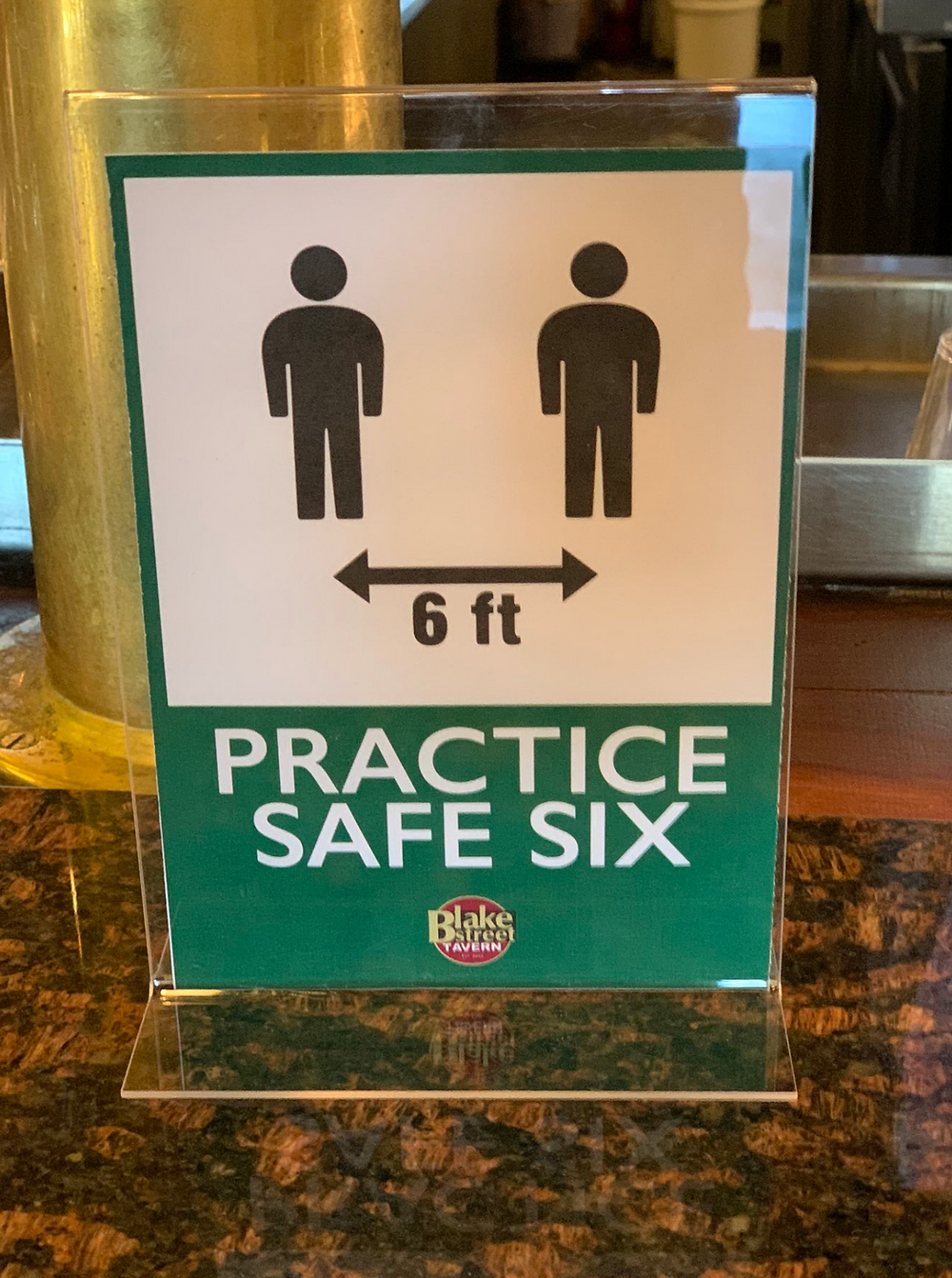 Practice Safe Six at Blake Street Tavern's Patio and Beer Garden!