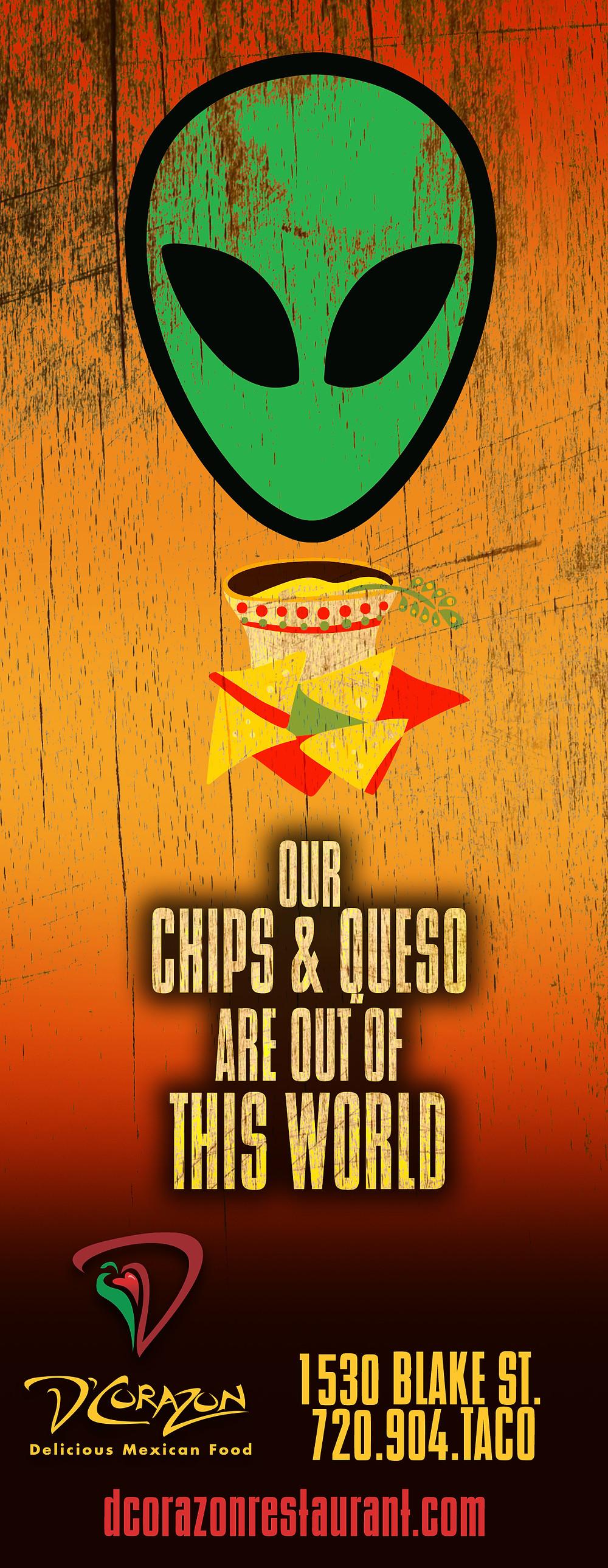 Mexican Restaurant Ad Design - Denver Graphic Designer