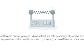 Google is blocking non-active accounts from using their AdWords Keyword Planner Tool