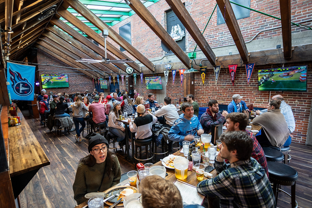 Best Restaurant in Downtown Denver - Game Room Seating