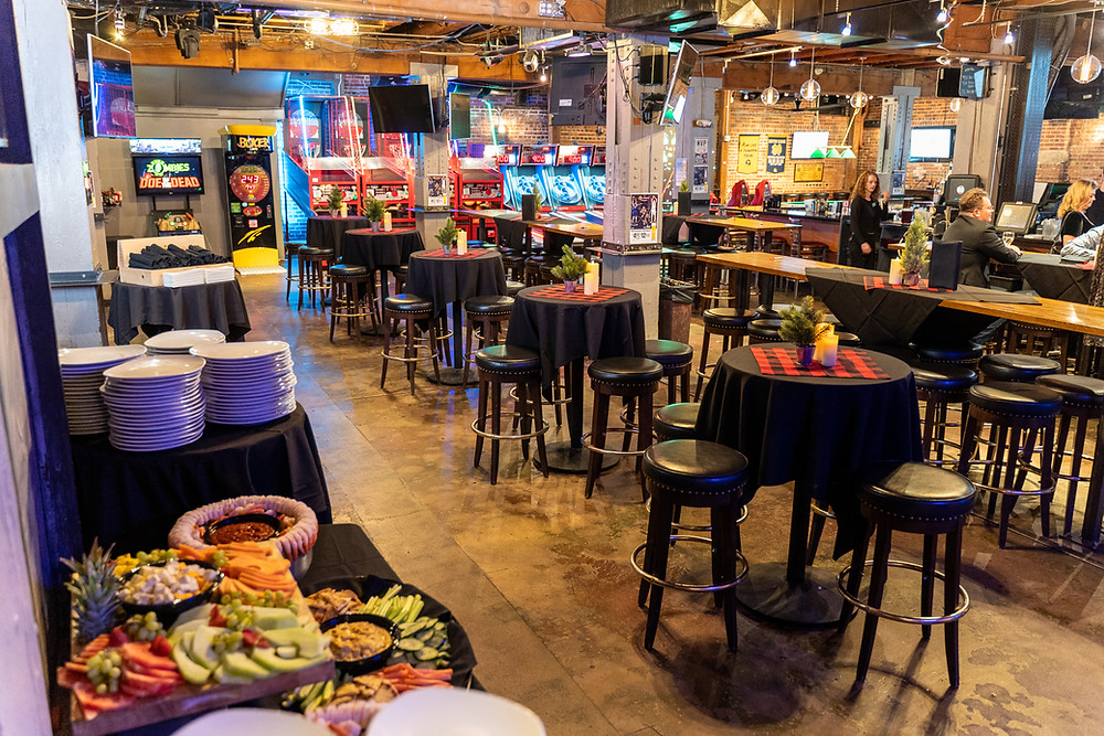 Restaurants with Private Rooms - Denver Arcade Bar with full catering options!