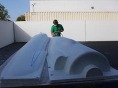 Preparing CNC XF-11 pattern