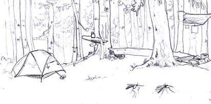camp-stock-illustration-Idelle-Fisher-Re