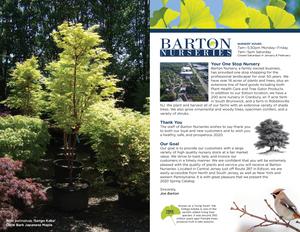 Plant Nursery Catalog Designer - Trees