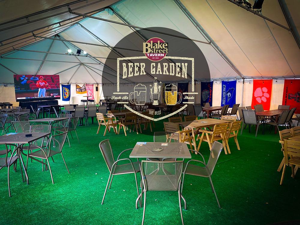 Denver Beer Garden in RiNo