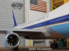 Aero Telemetry Air Force One 747 after final color and details. Beautiful.