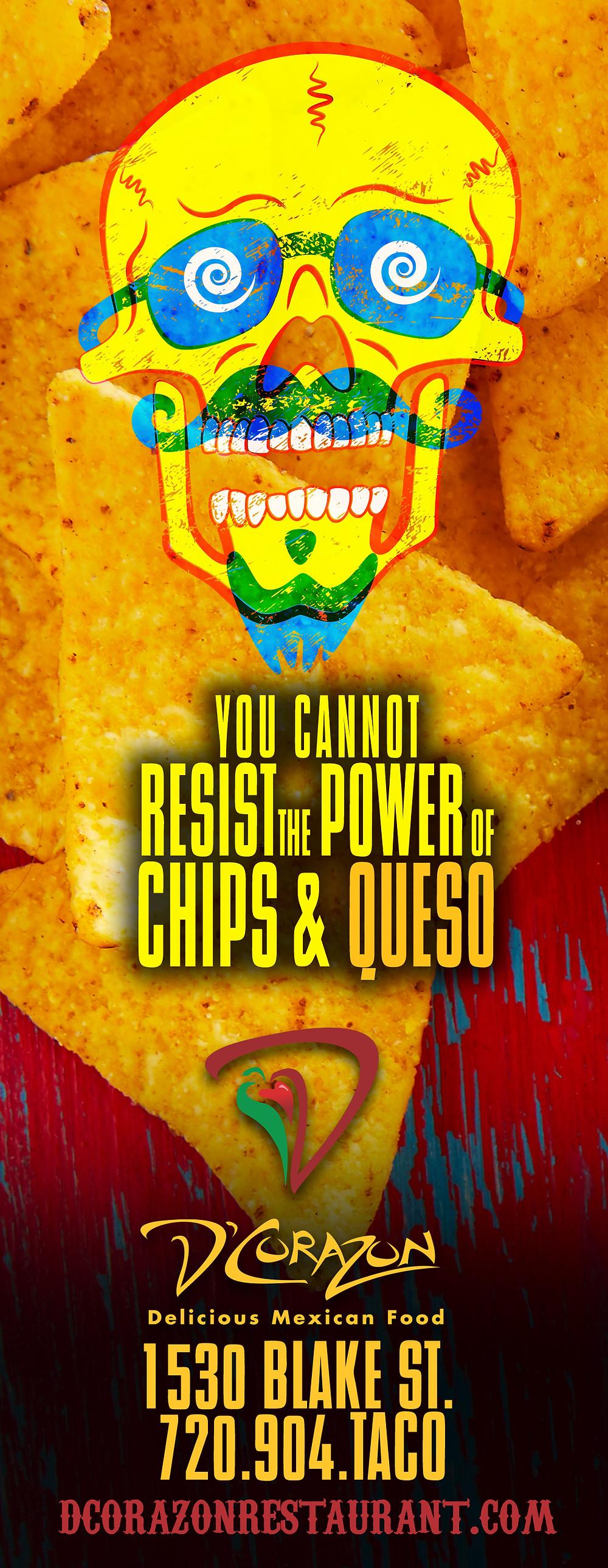 Denver Graphic Designer: Restaurant Ads for Westword - D'Corazon Ad