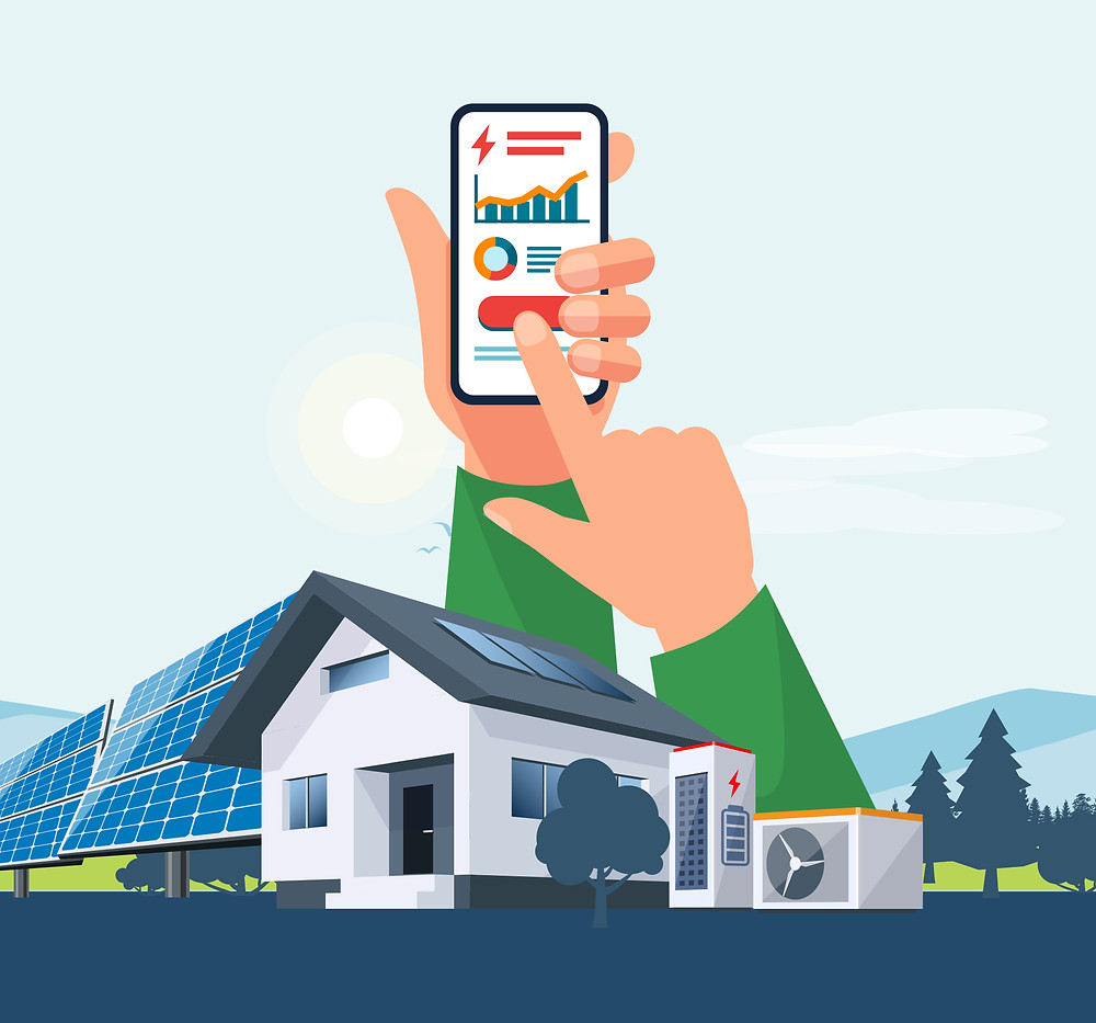 Solar Monitoring - from the best Solar Company in Fresno and Coarsegold area in California