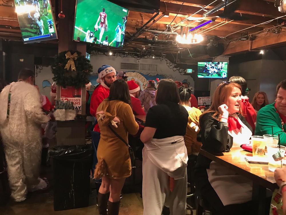Denver Santa Pub Crawl at Blake Street Tavern