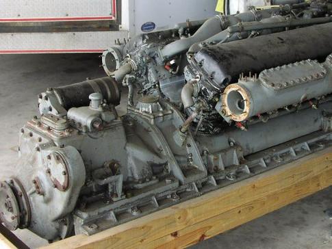 Allison V-1710 PT Boat Engine