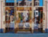 Gucci, Boston #1 acrylic on canvas 38 x