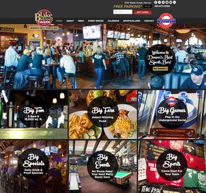 Best Wix Website Design for a Bar and Restaurant