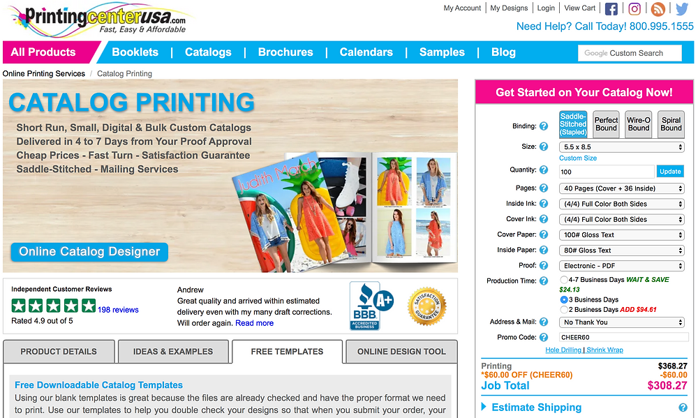 Catalog Designer – Great Printer Printingcenterusa.com