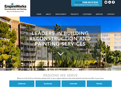 Best Wix Websites: Roofing & Construction
