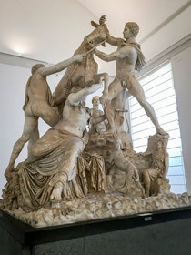 Farnese Bull. This is the largest sculpt